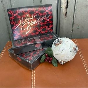 Harley Davidson Christmas Cards 2 Boxes of 12